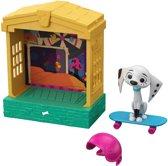 101 Dalmatian Street Hondenhuis & Dolly - Speelfiguur