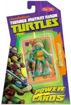 Teenage Mutant Ninja Turtles Power Cards Incl.  Micheangelo Figure - Kaartspel