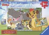 Ravensburger Disney The Lion Guard Beschermer van het koninkrijk Twee puzzels van 12 stukjes