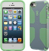Speck CandyShell Grip - Hoesje voor iPhone 5 / 5s / SE - Nickel Grey / Sweet Mint Green