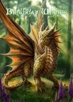Anne Stokes Wenskaart Friendly Dragon