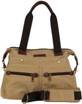 Malique By Me Canvas Westernbag Khaki