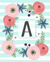 A: Diario Agenda con copertina Monogramma. Date da Ricordare, Obiettivi, Priorita' e Spazio Appunti per i tuoi Pensieri!