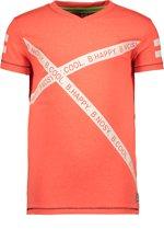 B.Nosy Jongens T-Shirt - Neon red - Maat 146/152