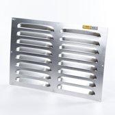 Gavo Rooster Aluminium - 50 x 35 cm