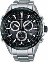 Seiko Astron SSE011J1 horloge heren - zilver - edelstaal