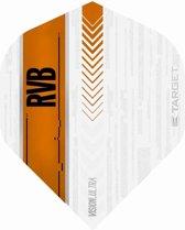 Target Ultra Raymond van Barneveld No2. White Orange  Set à 3 stuks