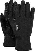 Barts Fleece Gloves Unisex Handschoenen - Black - Maat XS