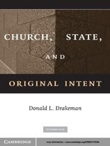 Church, State, and Original Intent