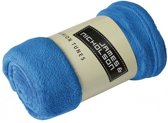 James & Nicholson - Plaid - Fleece - 120 x 160 cm - Kobaltblauw