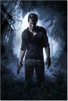 Uncharted - Drake Canvas Poster 89 x 60 cm