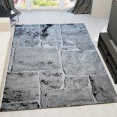 Vloerkleed - 2600 gr per m² - Tibet - Grijs - 7413 - 120x170 cm - 13 mm