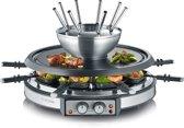 Severin RG 2348 - Gourmet/fondue combinatie - 8 Fonduevorkjes