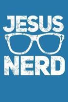 Jesus Nerd: Sermon Notes Journal: An Inspirational Worship Tool