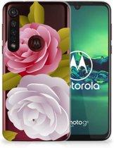 Motorola Moto G8 Plus TPU Case Roses