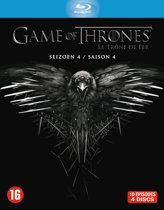 DVD cover van Game Of Thrones - Seizoen 4 (Blu-ray)