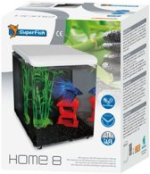Superfish Home Aquarium - 20.5x20.5x25.7 cm - 8L - Wit