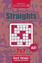 Sudoku Small Straights - 200 Hard to Master Puzzles 7x7 (Volume 21)