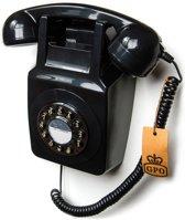 GPO Retro Muurtelefoon – Zwart – Jaren 70/80