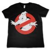 GHOSTBUSTER - T-Shirt KIDS Logo Distressed (6 Years)