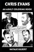 Chris Evans: An Adult Coloring Book