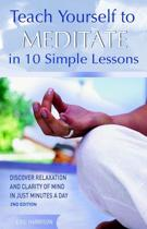 Afbeelding van Teach Yourself to Meditate in 10 Simple Lessons