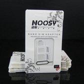 Noosy  sim adapter set 4 in 1 inclusief iPhone iPad simkaart tray pin