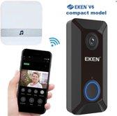 Deurbel met camera - EN & NL Handleiding - Video Intercom - Wifi - Draadloos - Deurtelefoon inclusief chime en oplaadbare batterijen - Video deurbel