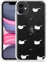 Apple iPhone 11 Hoesje Love my Cat