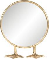 Spiegel 25*9*30 cm Goudkleurig | 62S159 | Clayre & Eef