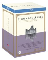 DVD cover van Downton Abbey - Complete Collection (Blu-ray)