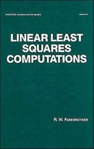 Linear Least Squares Computations