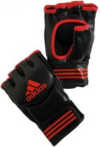 adidas Traditional Grappling Handschoenen Zwart/Rood Extra Large