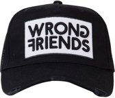 Wrong Friends Barcelona Cap Black/White