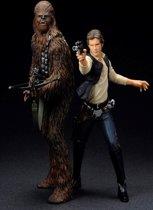 Star Wars Han Solo & Chewbacca ARTFX+ Statue / Figures