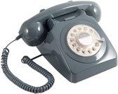 GPO Retro Telefoon Met Draaischijf – Aan Te Sluiten Op Modem – Grijs