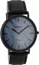 OOZOO Vintage Zwart horloge C7771 (40 mm)