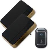Draadloze deurbel - set - twee bellen - vele melodieën - Bell4U