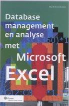 Database management en analyses met Microsoft Excel