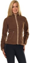 Pfiff Bovenkleding Fleecevest Jacket - Bruin - L