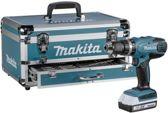 Makita HP457DWEX4 + bit&borenset klopboor/schroefmachine + koffer