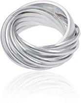 Classics&More - Zilveren Ring Cartier ring bestaande uit 10 ringen