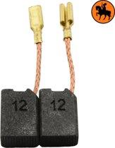 Koolborstelset voor Black & Decker DN12B - 6,4x10x14mm