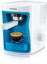 Severin Cubo KA5992 Handmatig Espressoapparaat Wit/Blauw