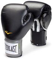 Velcro Pro Style Training Gloves   12 ounce Zwart