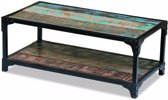 Salontafel massief gerecycled hout