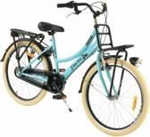 2Cycle New-York Transportfiets - 24 inch - Voordrager - Blauw