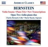 Bernstein: Violin Sonata