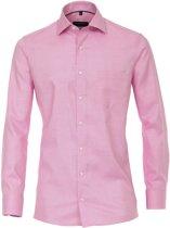 Casa Moda Overhemd Roze Oxford Kent Modern Fit - 38