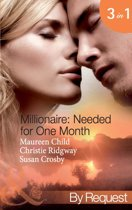 Millionaire: Needed for One Month (Mills & Boon By Request) (Millionaire of the Month - Book 1)